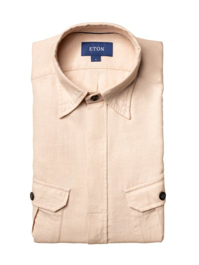 Overshirt in BEIGE