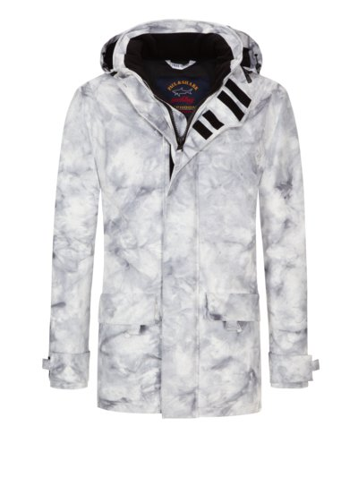 Funktionsjacke 'Lunar', Limited Edition in GRAU