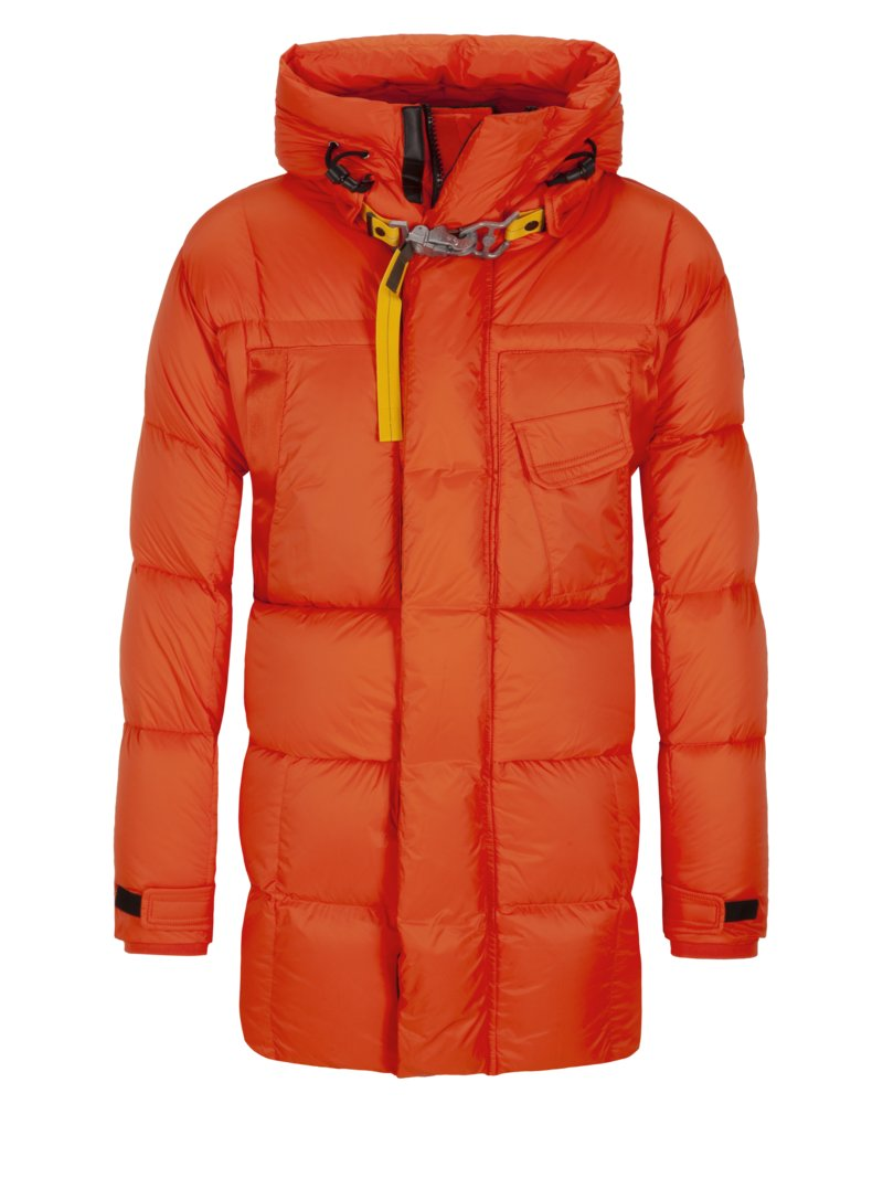 Stepp-Daunenparka in ORANGE