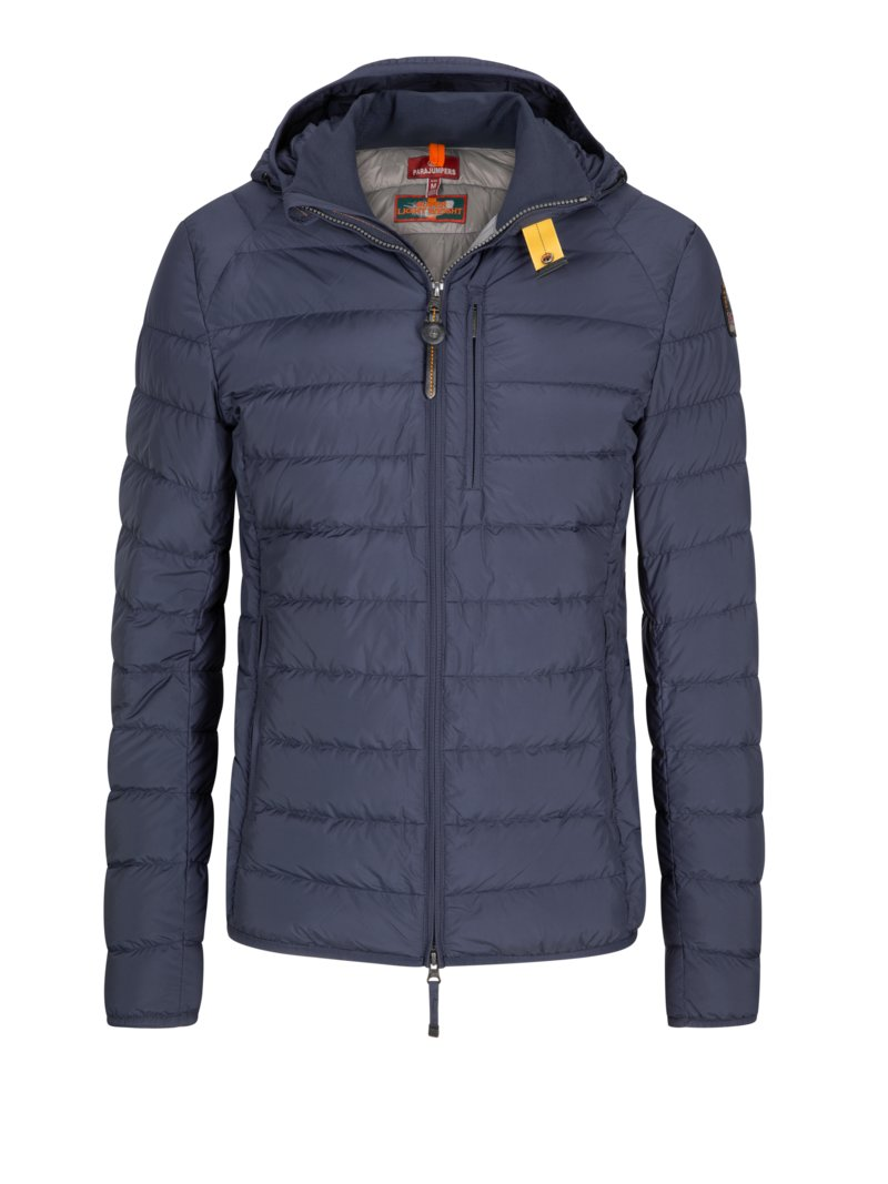 Steppjacke, Leichtdaune in ORANGE