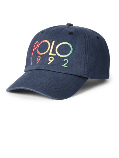 Cap mit Logo-Stickerei in MARINE