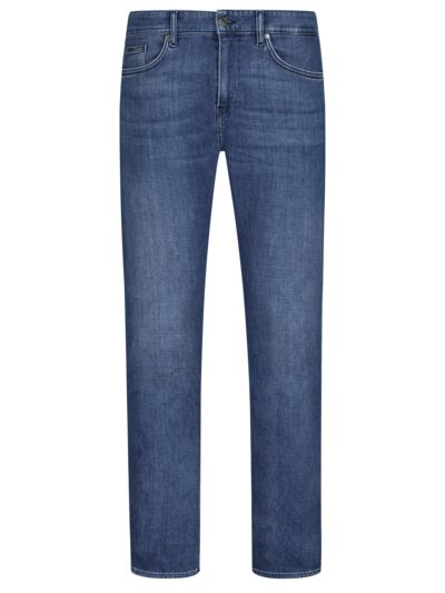 Denim-Jeans, Slim Fit in BLAU