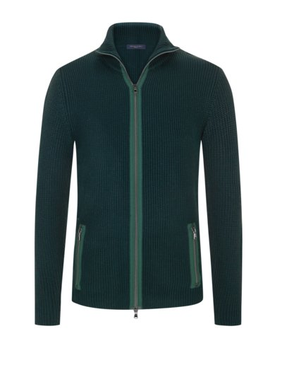 Strickjacke in TANNE
