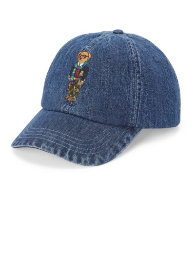 Cap in Jeans-Optik in BLAU