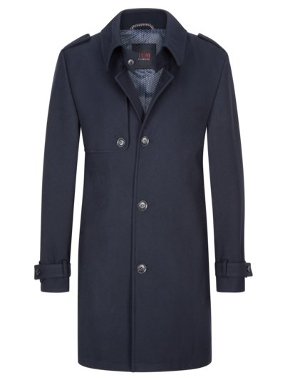 Modischer Trenchcoat in MARINE