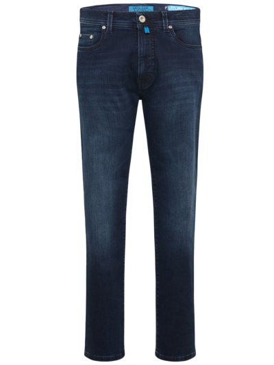 Jeans mit Future Flex, Tapered Fit in MARINE