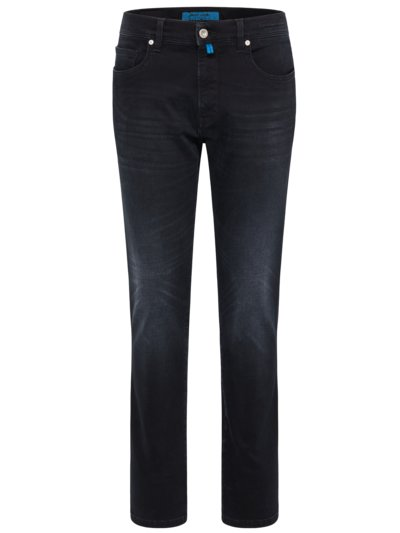 5-Pocket Jeans mit Futurflex, Lyon, Tapered Fit in ANTHRAZIT