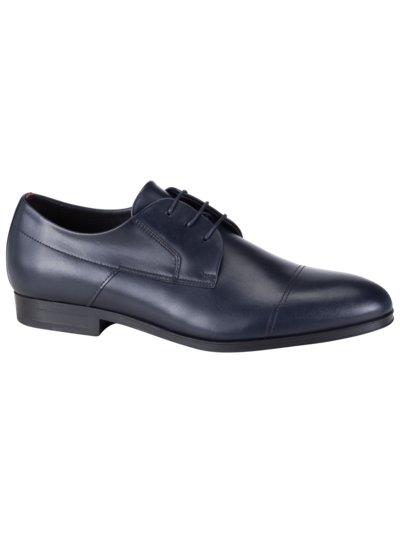 Businessschuh, Derby in BLAU