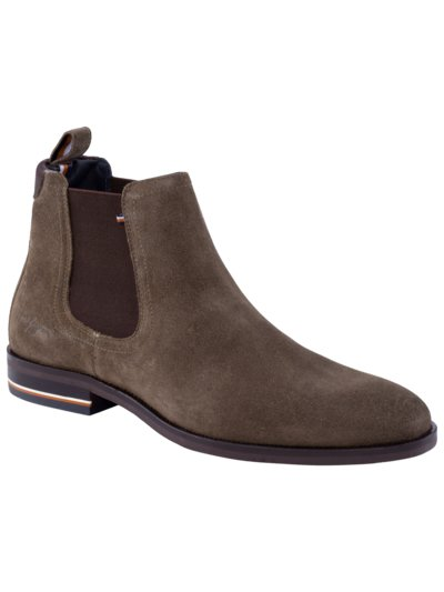 Chelseaboot in Wildleder in BRAUN