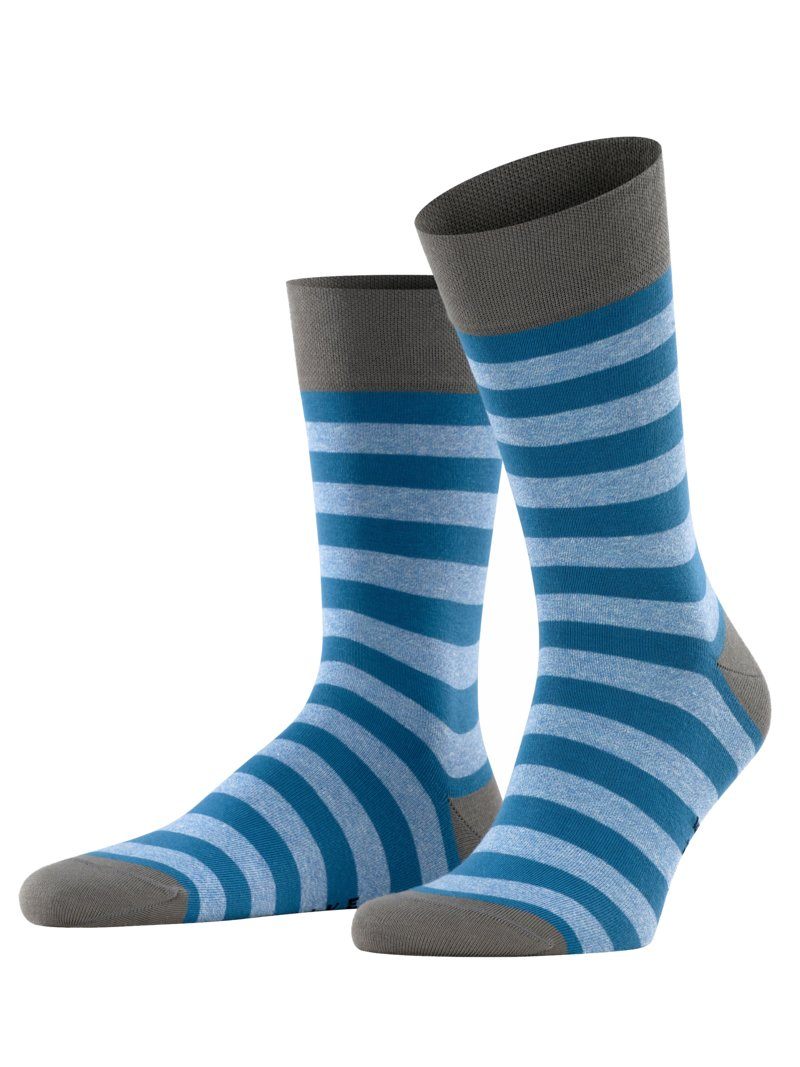 Hochwertige Socken, Sensitive Mapped Line in BLAU