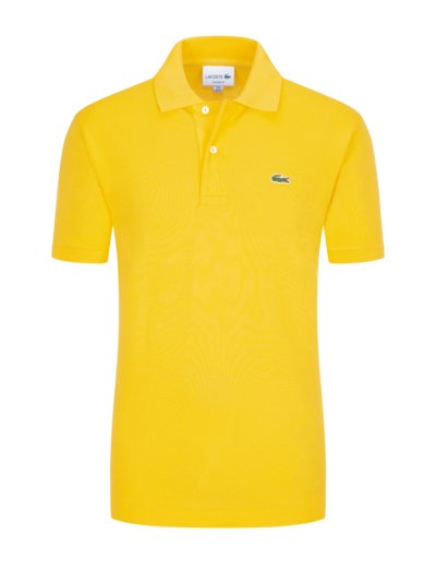 Poloshirt, Classic Fit in GELB