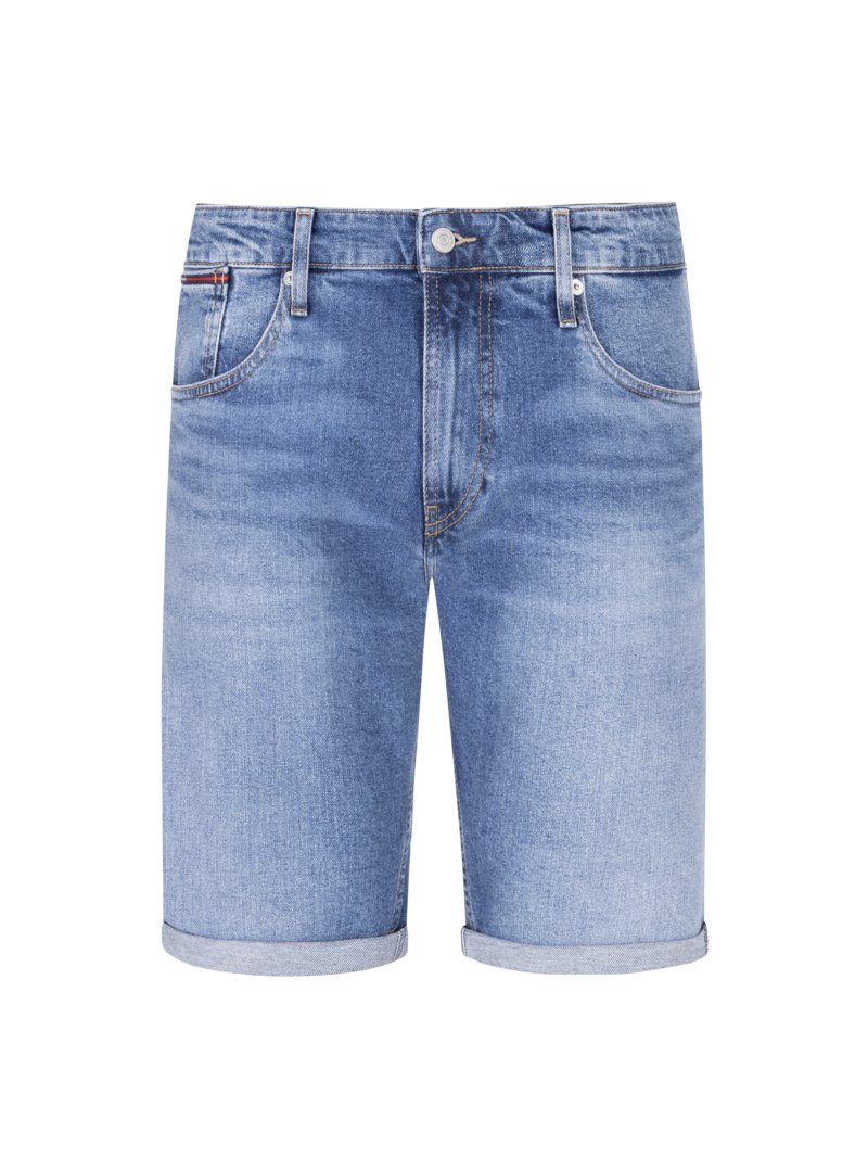 Jeans-Bermuda, Relaxed Fit in BLAU