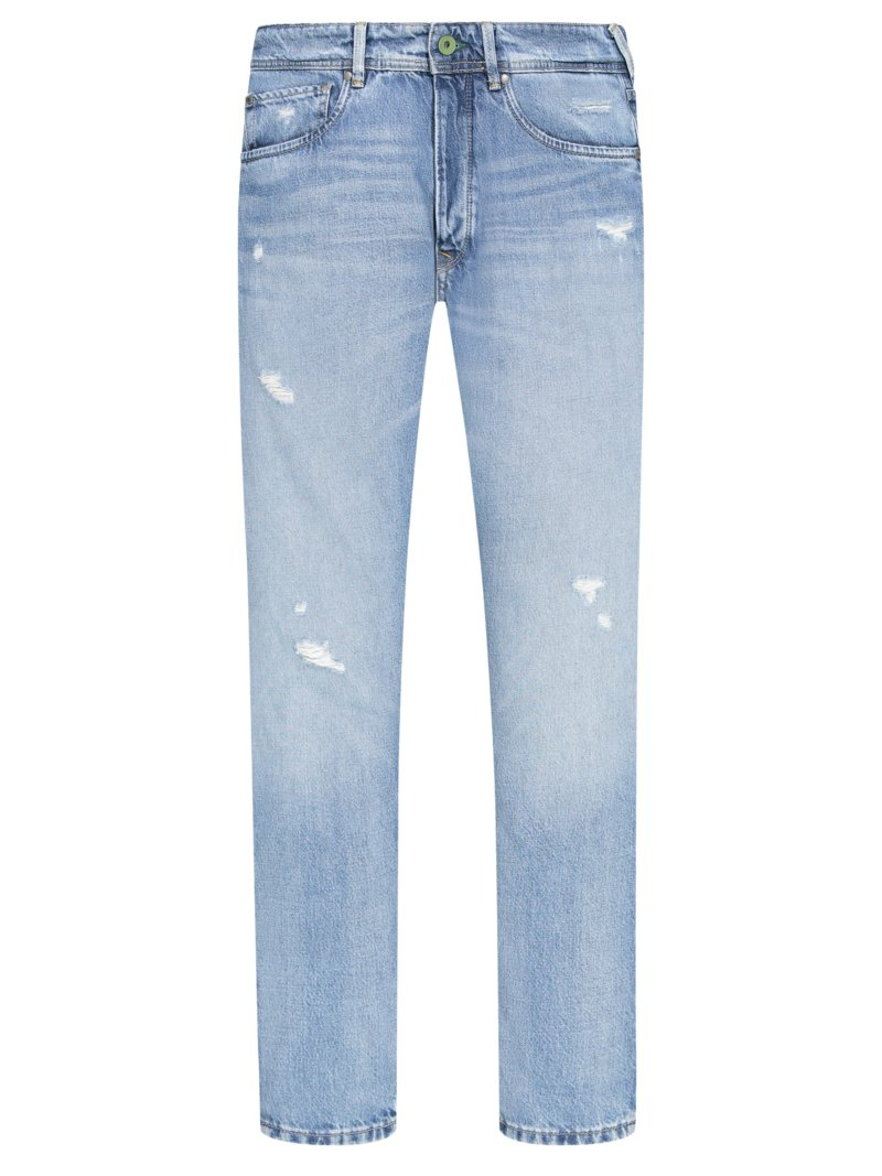 Jeans, Relaxed Fit in BLAU
