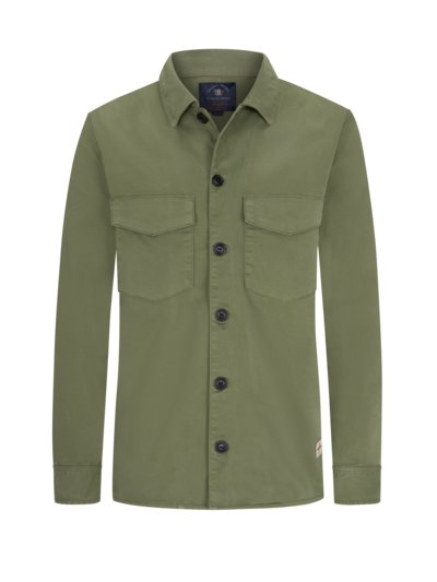 Overshirt mit Stretchanteil in OLIV