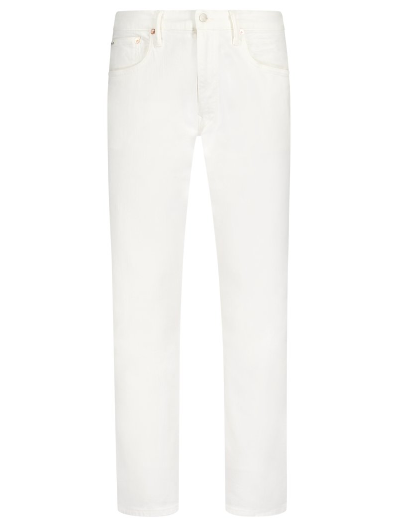 5-Pocket-Hose, Slim, Sullivan in WEISS