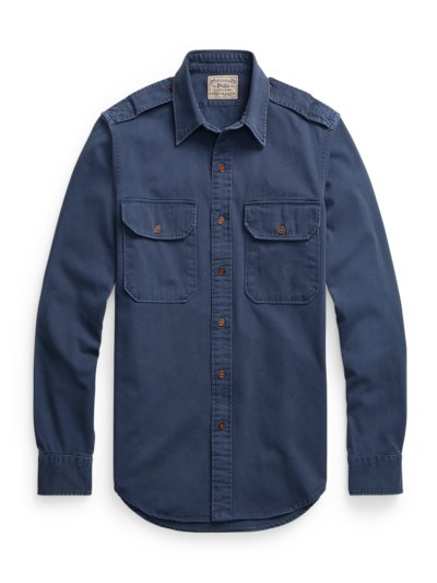 Overshirt in MARINE