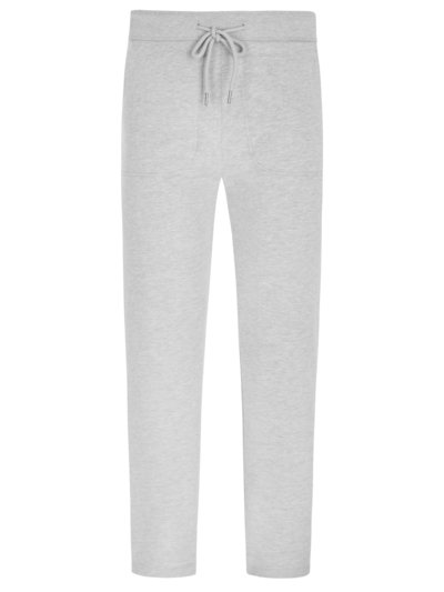 Sweatpants im Baumwoll-Mix in GRAU