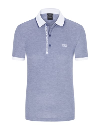 Poloshirt, Slim Fit in ROYAL