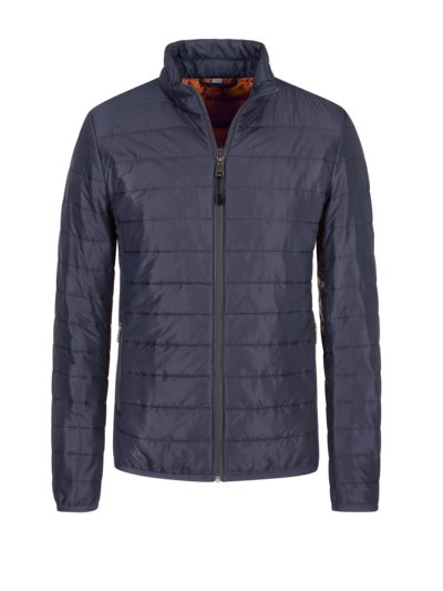Leichte Steppjacke, Slim Fit in MARINE