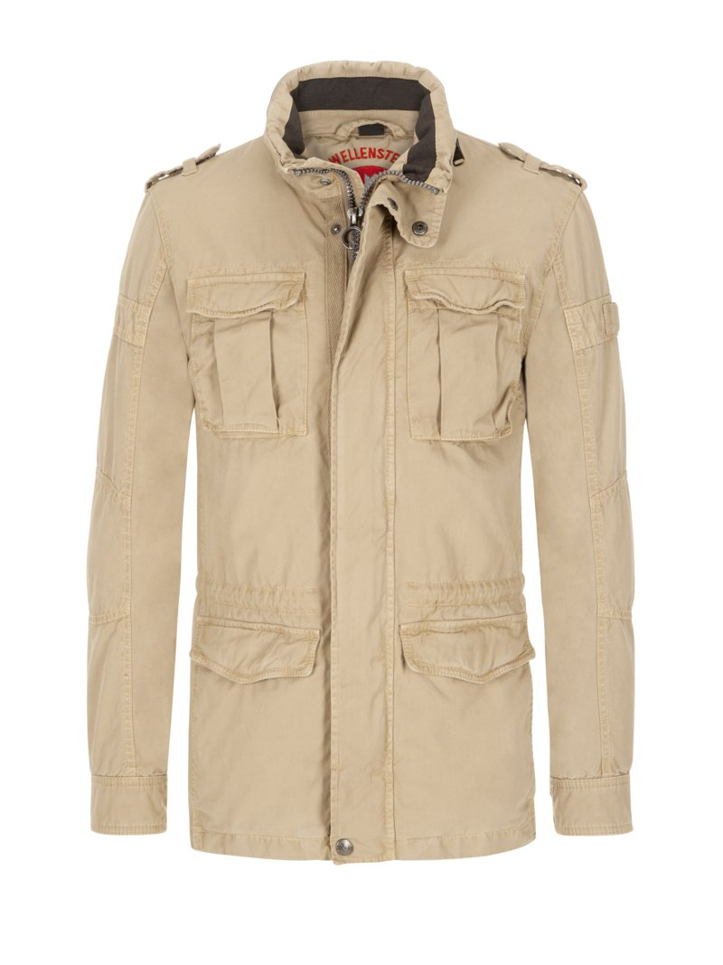 Fieldjacket im Vintage-Look in MARINE