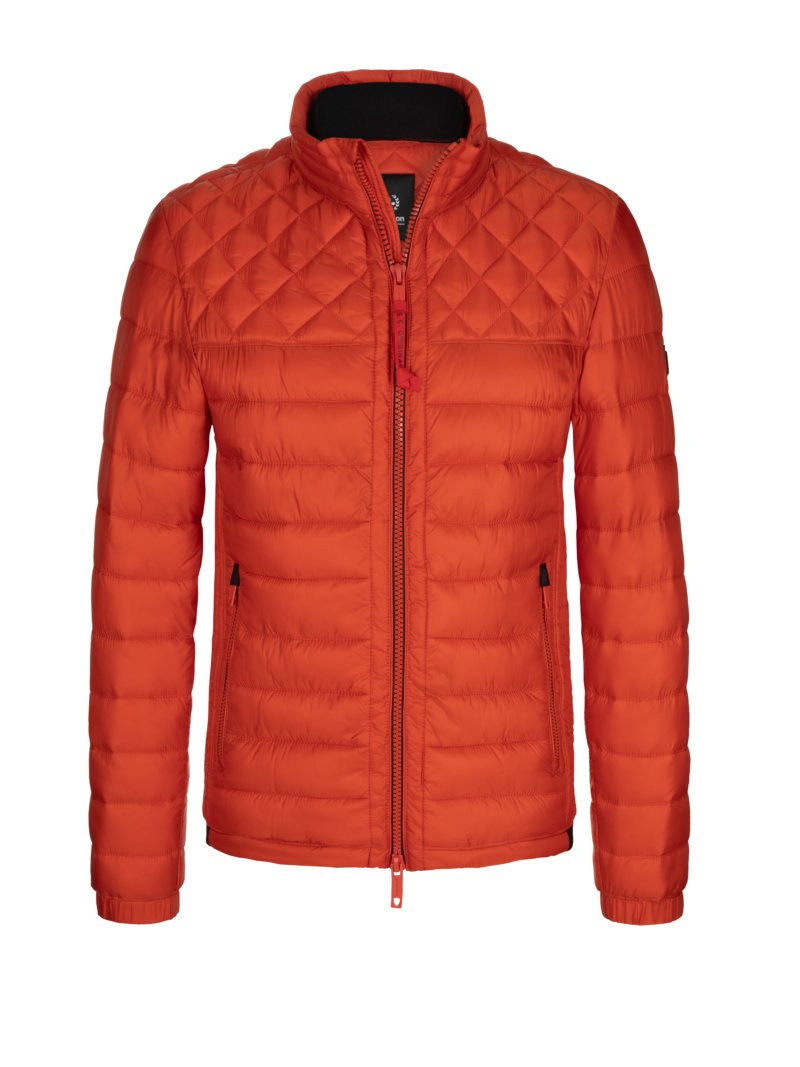 Steppjacke, ISOCLOUD_500 in ROT