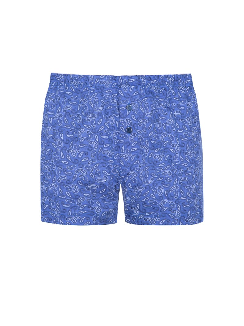 Boxer-Short mit Paisley-Muster in ROYAL