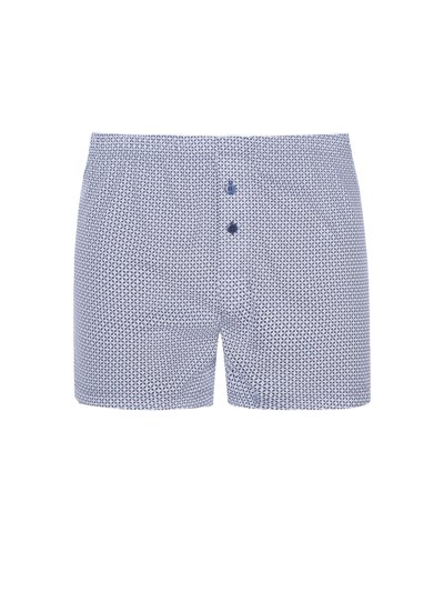 Boxer-Short mit Muster in MARINE