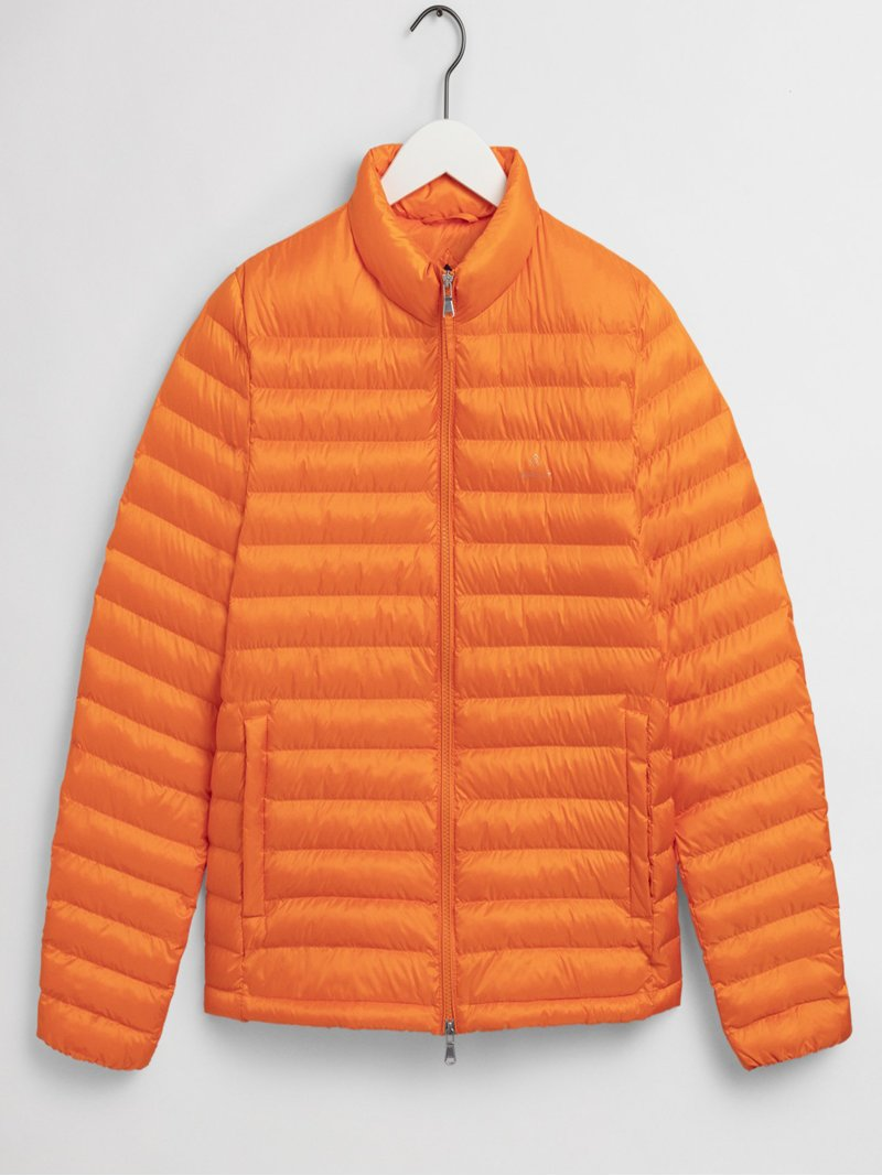 Leichte Steppjacke in ORANGE