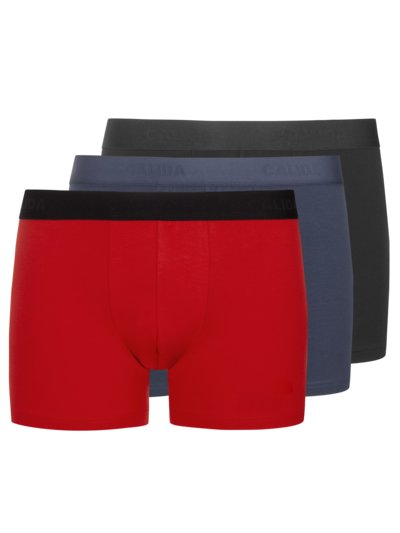 Boxer-Trunk 3er Pack in ROT