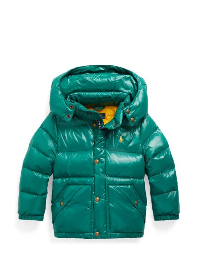 Daunenjacke mit Glanz-Effekt, Kids Collection in GRUEN