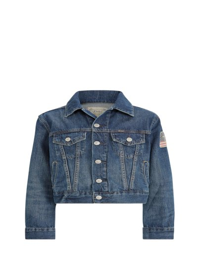 Jeansjacke, Kids Collection in BLAU
