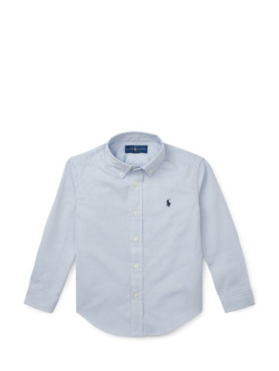 Hemd mit Button-Down-Kragen, Kids Collection in BLAU