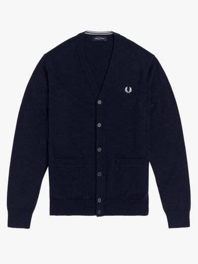 Cardigan in MARINE