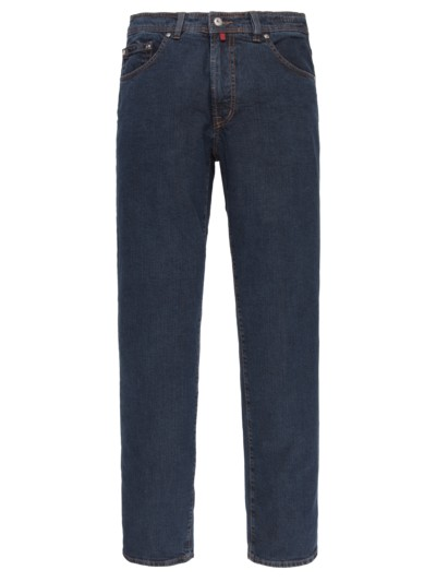 Jeans mit 5-Pocket, Dijon, Regular Fit in DARKSTONE