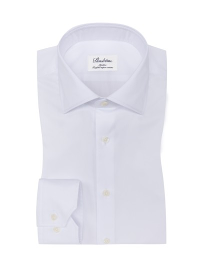 Slim Fit Businesshemd in WEISS