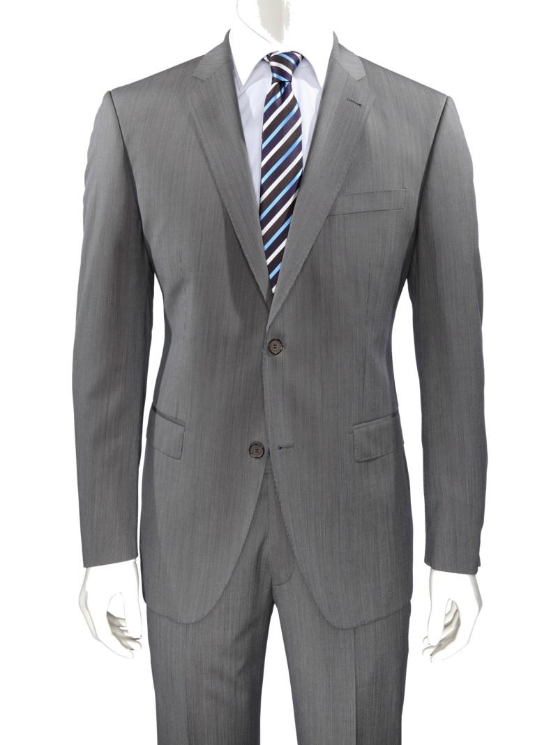 heiß-verkaufende Mode extrem einzigartig authentisch Nadelstreifen-Baukasten-Anzug