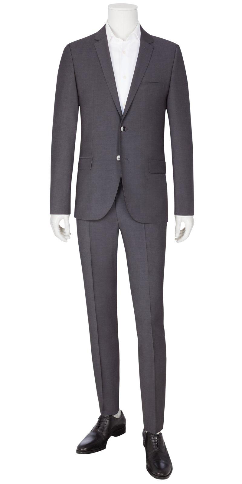 60% Rabatt Super süße am besten verkaufen Baukasten-Anzug im Gitterkaro, mit passender Weste, Huge/Genius, Slim Fit