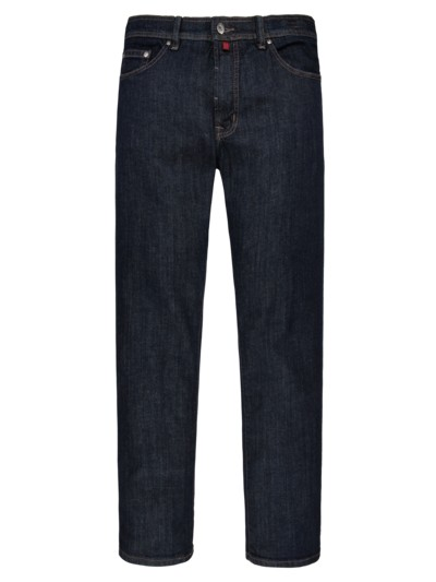 Dark Denim Stretch Jeans Deauville in BLAU