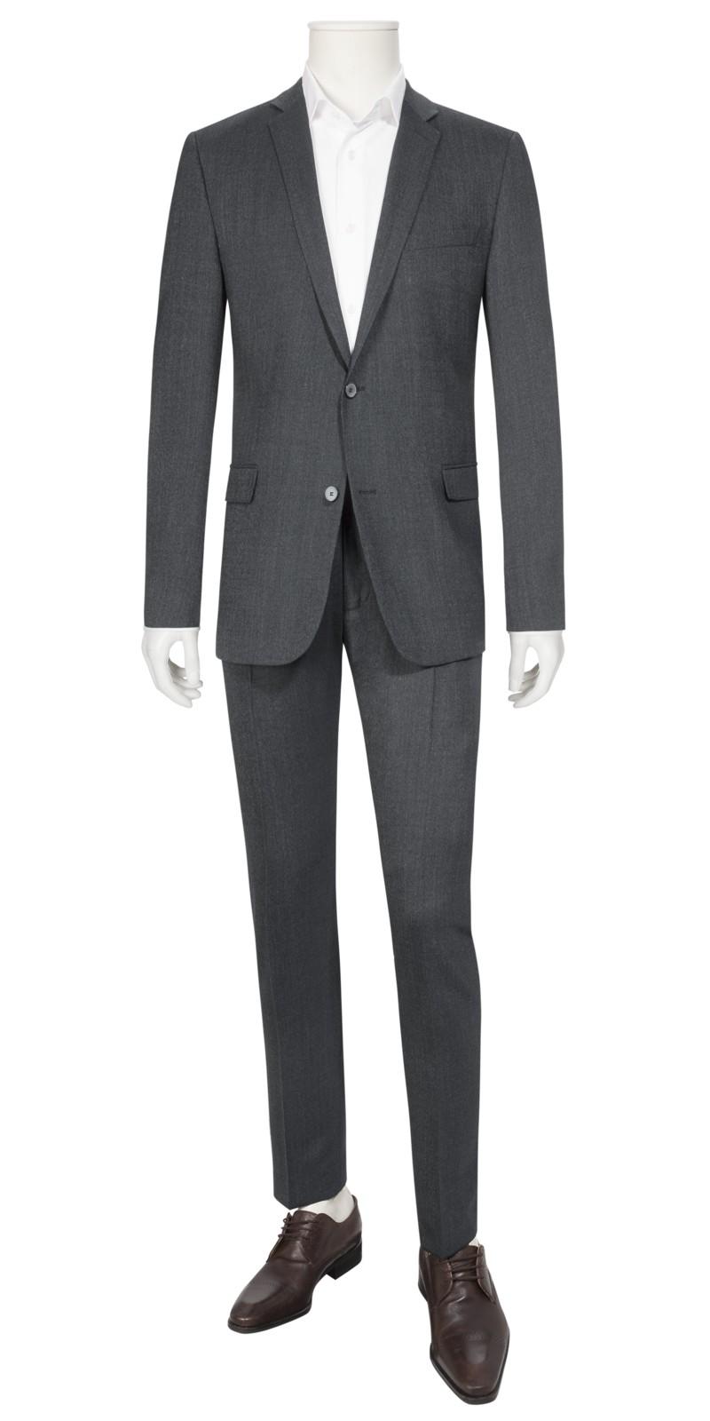 Baukasten Anzug im Minimalmuster, CaleMadden, Extra Slim Fit