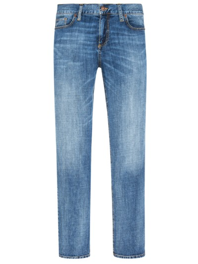 Pipe Regular Slim Fit Jeans in BLAU