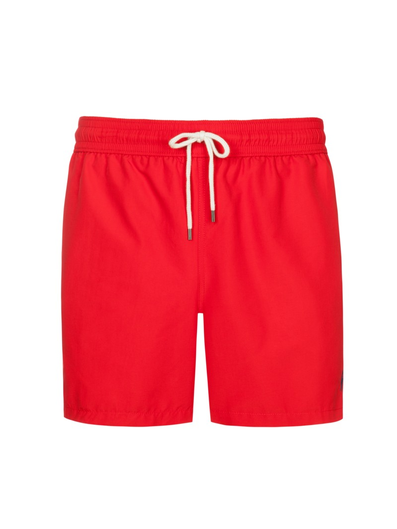 Modische Badeshorts in ROT