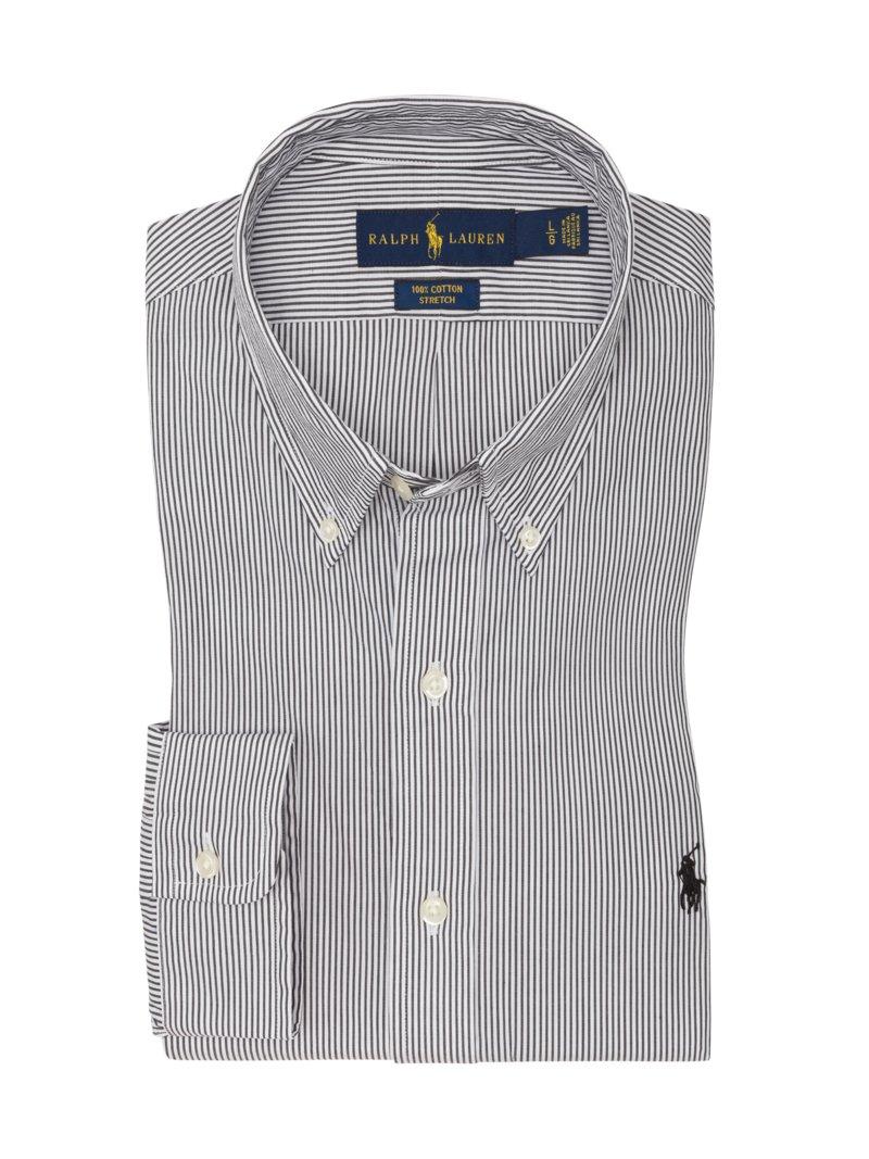 buy popular e8506 28ee9 Polo Ralph Lauren Gestreiftes Custom Fit Hemd blau – Hirmer ...