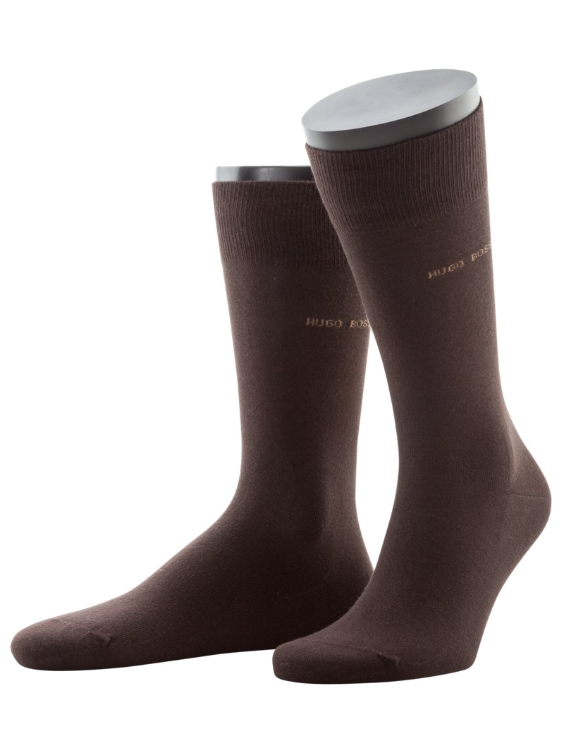 Socken mit Stretchanteil, Marc in BRAUN