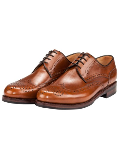 Fullbrogue-Budapester in COGNAC