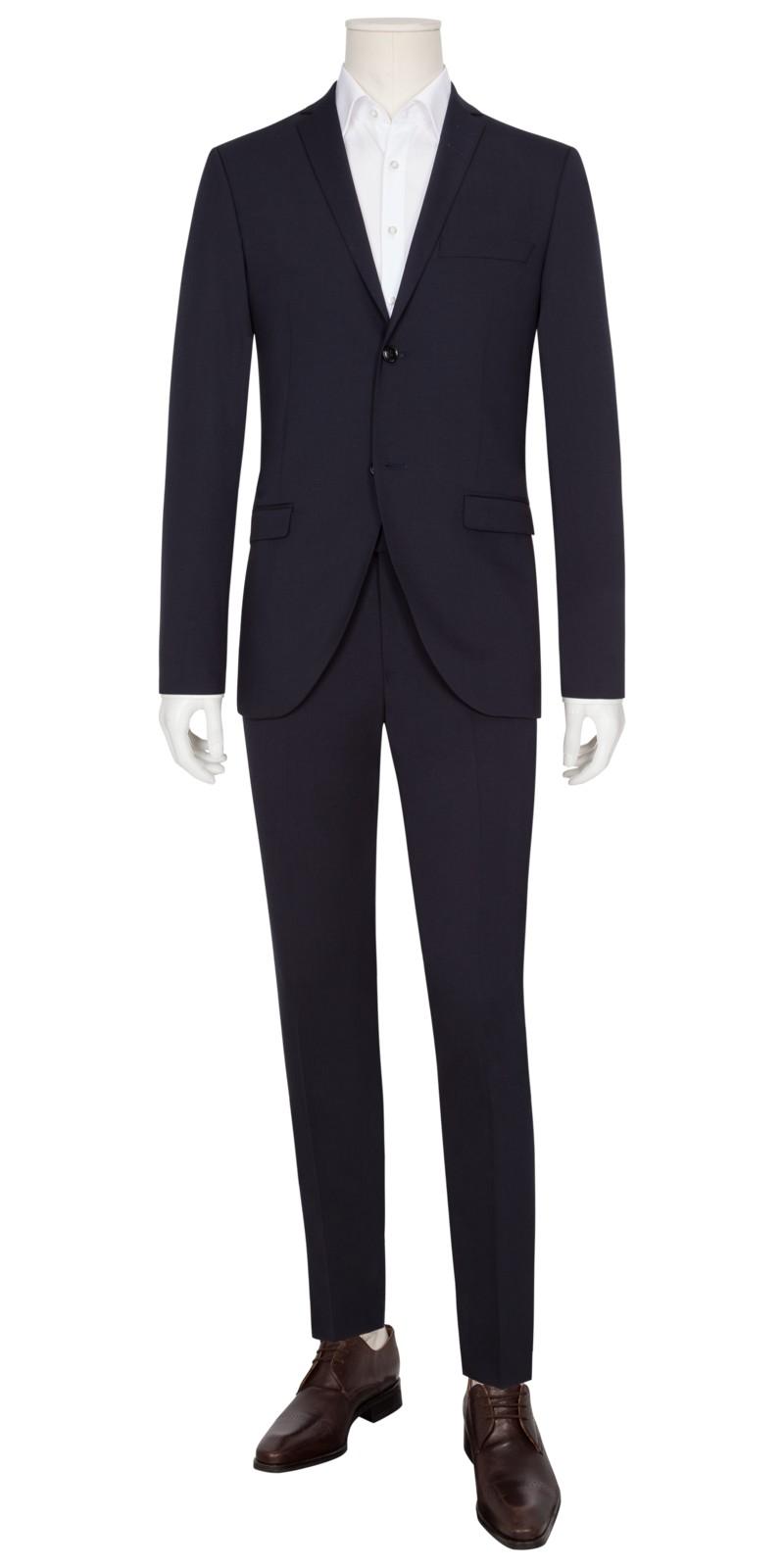 Rabatt attraktiver Preis Rabatt-Sammlung Gemusterter Shape Fit Baukasten-Anzug, 5008