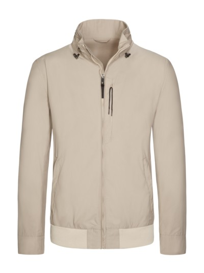 Leichte Funktionsjacke in Blouson-Form in BEIGE