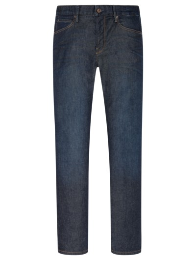 Regular Fit Jeans. minimale Tragefalten in DENIM