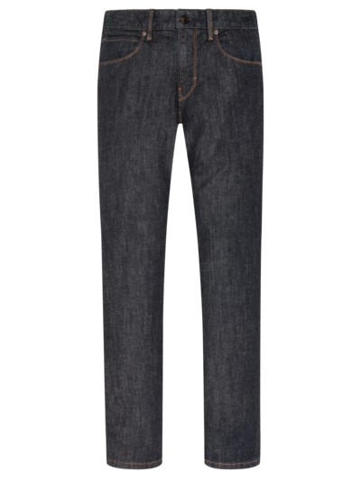 Stone washed Jeans, 5-Pocket-Form in STONE