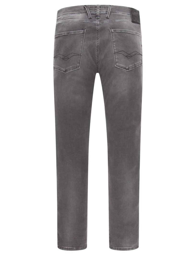 replay hyperflex jeans anbass grau hirmer herrenmode. Black Bedroom Furniture Sets. Home Design Ideas