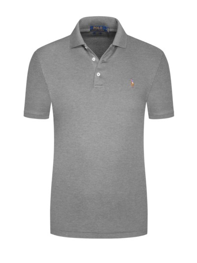 Poloshirt, Slim-Fit in ROSA